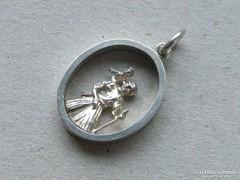 Ap 391 - Ezüst szent Kristóf medál - az utazók védőszentje