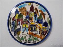 Jeruzsálem emlék falikép