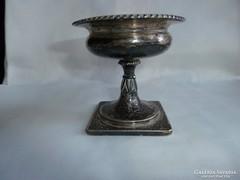 Antik ezüst asztali kináló