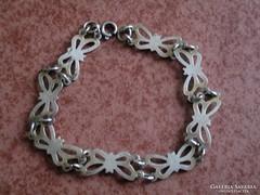 Pillangó formás 925-ös ezüst karkötő