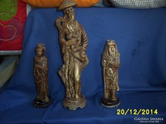 """Három """"keleti bölcsek"""" régi szobor"""