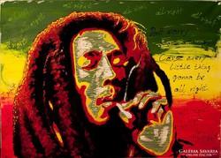 Bob Marley  Festmény