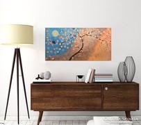 Akció-Ketten-moder festmény