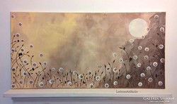 Éjszaka-moder festmény