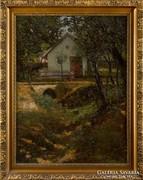 Szüle Péter eredeti festménye garanciával