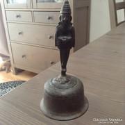 Antik keleti bronz csengő