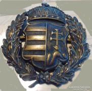 Kossuth címeres sapkajelvény