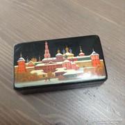 Régi orosz kézzel fesett ékszer doboz