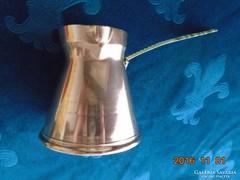 Török antik vörösréz Ibrik-bronz nyéllel