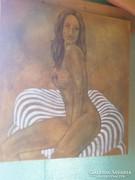 Akt festmény