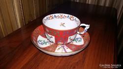 Antik Herendi Gödöllő mintás teás csésze