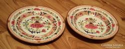 Fischer Ignác 1876. tányér párban (mély és lapos)