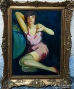 Tápai Lajos eredeti festménye