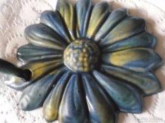 Zsolnay : Virág falidísz