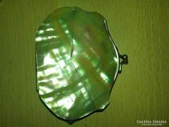 Édesvizi tenyésztett kagylóhély borítású pénztárca