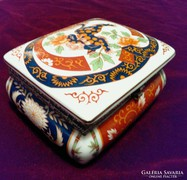Kinai Sarkanyos porcelan ekszerdoboz