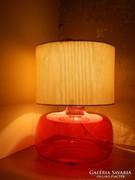 Retro / design asztali üveg lámpa