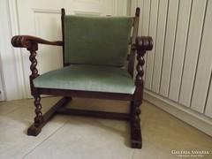 Antik koloniál fotel pár