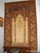 Kézi csomózású antik gyapjúszőnyeg