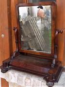 Eredeti Antik 200 éves Biedermeier asztali tükör !