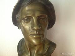 Adolf Pohl osztrak szabrász bronz szobra 1910