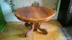 Gyönyörű Bővíthető/meghosszabbítható Ónémet étkező asztal,