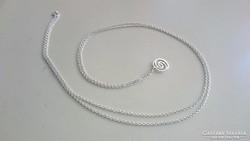 NAGA ezüst nyaklánc (80 cm) és medál