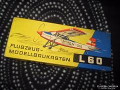 L-60 NDK  repülő modell doboza