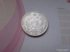 1886 ezüst 1 Florin ,gyönyörű ritkább évszám