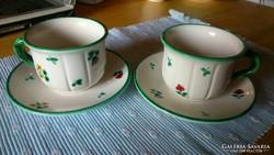 """Gmundner """"Streublumen"""" teás szettek párban"""