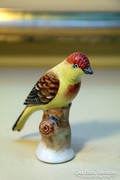 Iparművész kerámia madárfigura