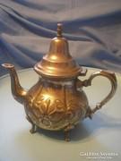 Chinai antik ezüstözött kávé/tea kiöntő jelzett U8