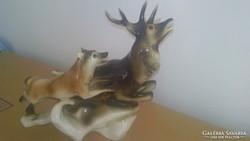 Nagyméretű Royal Dux Porcelán