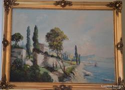 Koszkol Jenő: Mediterrán tengerpart