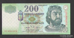 "200 forint 2006. ""FC""  UNC !  RITKA!"