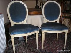 Antik empire fehér szék