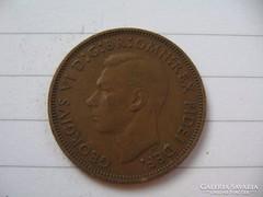 Anglia Fél penny 1949 !!