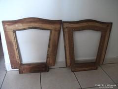 Antik képkeret, vagy szék háttámla fa kerete eladó!