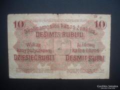 10 rubel 1916 RITKA !!!