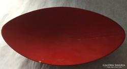 Zsolnay tálka, piros eozin technikával