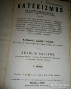Katekizmus magyarázata 1859 év Mendlik Ágoston