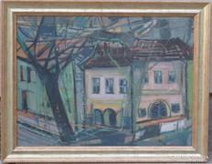 Udvary Pál /1900-1987/ : Budai házak