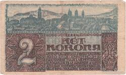 Pécs 2 Korona - 1920