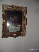 Zubor Rezső festménye.A keret restaurálásra szorul.