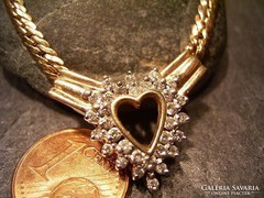 Collie 14k arany gyemantokal