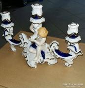 Gyertyatartó (porcelán)