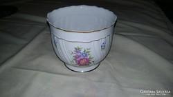 Hollóházi porcelán kaspó