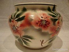 Fischer Emil antik porcelán kaspó