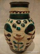 Jelzett W. Germany retro kerámia váza