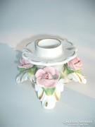 Alka Kunst Német  porcelán  gyetyatartó